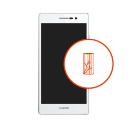 Wymiana wyświetlacza LCD digitizer dotyk Huawei P7