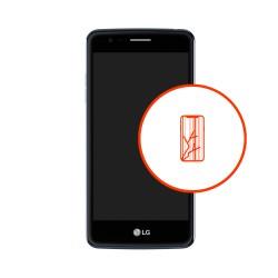 Wymiana wyświetlacza LCD digitizer dotyk LG K8 M200n 2017